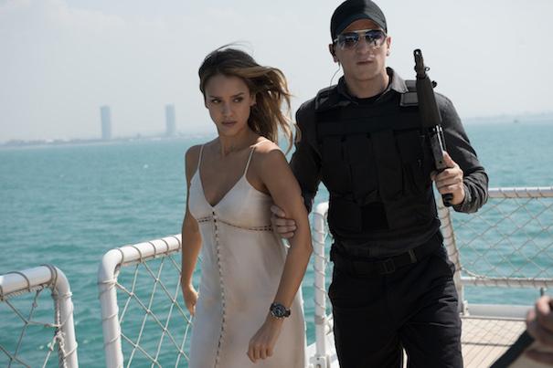 Jessica Alba stars as 'Gina'